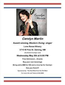 Carolyn Martin flier (1)